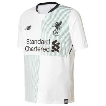 New Balance LFC Junior Away SS Jersey, White