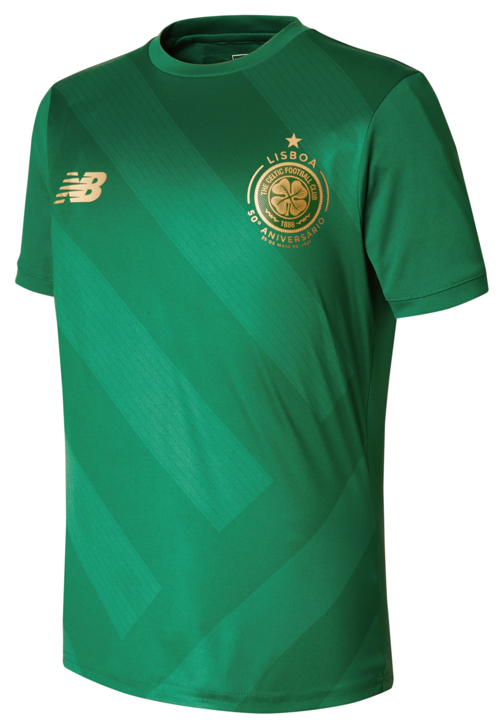 NB CFC Elite Training Junior Pre Match Tee, Verdant Green