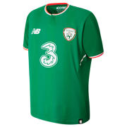 NB FA Ireland Junior Home Short Sleeve Shirt, Jolly Green