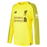 NB Liverpool FC Home Junior GK Long Sleeve Jersey, Viper Yellow