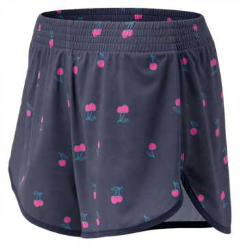 New Balance J.Crew Dolphin Printed Short, Mychrypt with Amp Pink