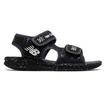 New Balance Sport Sandal, Black with White