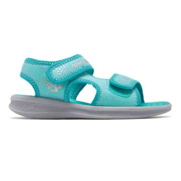 New Balance Sport Sandal, Teal with Grey