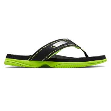 New Balance Mojo Thong, Black with Lime