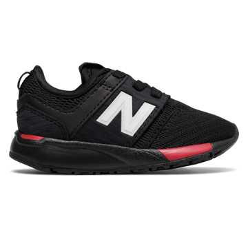 New Balance 247 Sport, Black with Red