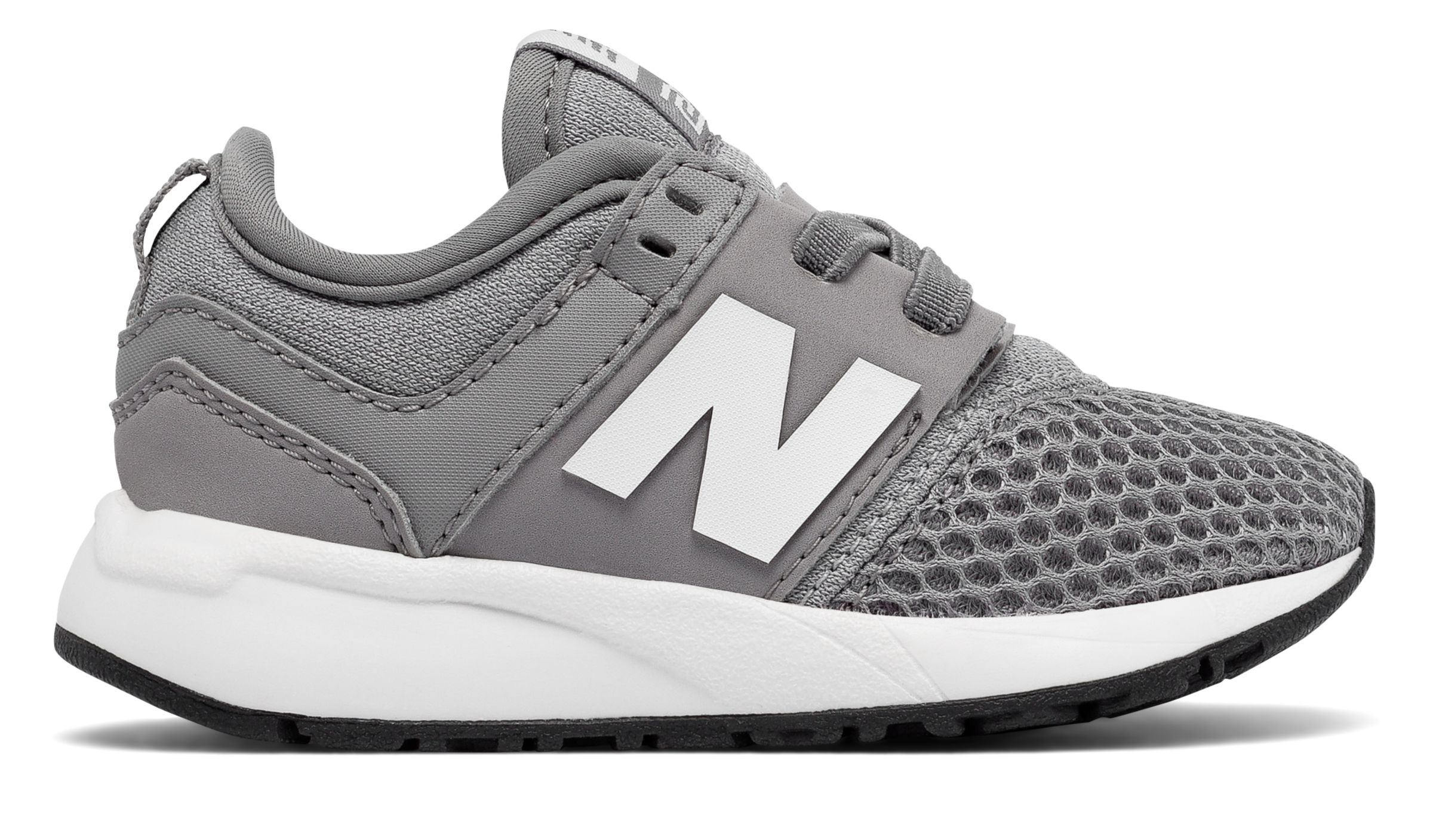 NB 247 Classic, Grey with White
