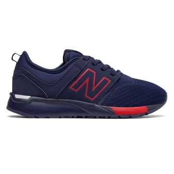 New Balance 247 Classic, Navy with Red