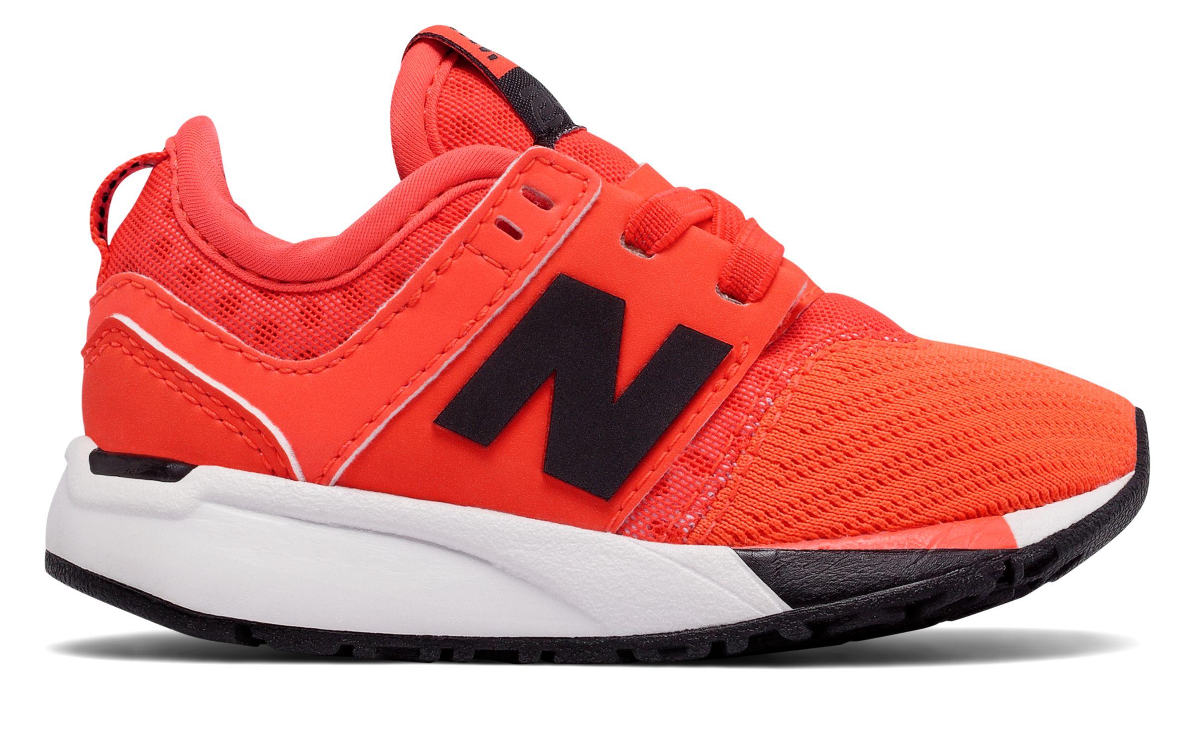 NB 247 Sport, Orange with Black