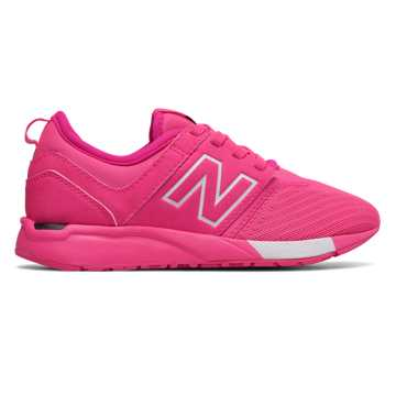 New Balance 247 Sport, Pink with White