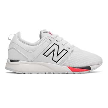 New Balance 247 Sport, White with Black