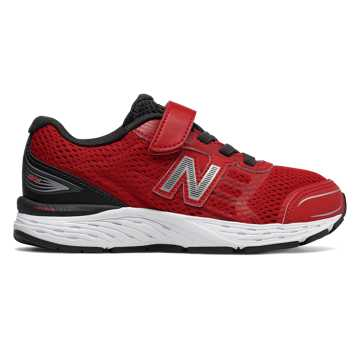 New Balance Hook and Loop 680v5, Team Red with Phantom