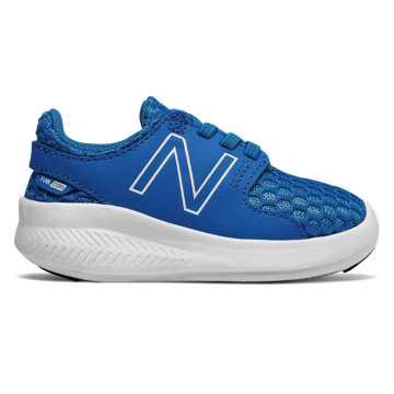 New Balance COAST系列 小童 跑步系列 松紧带式 透气鞋面, 蓝色