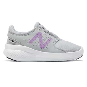 New Balance FuelCore Coast v3, Grey with Purple