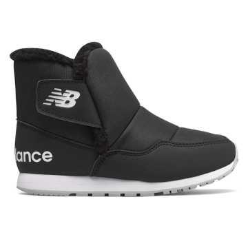 New Balance 996系列高帮 童款中大童, 黑色
