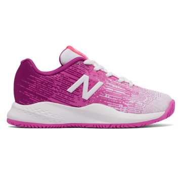 New Balance New Balance 996v3, White with Pink Zing