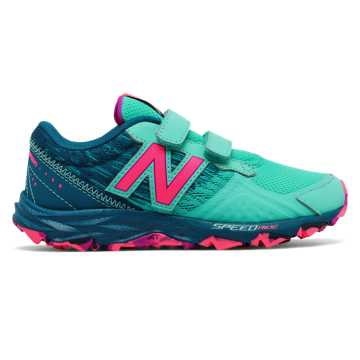 New Balance Hook and Loop 690v2 Trail, Aquarius with Pink