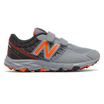 New Balance Hook and Loop 690v2 Trail, Grey with Black