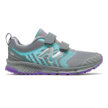 New Balance Hook and Loop FuelCore NITREL, Grey with Pisces & Orange