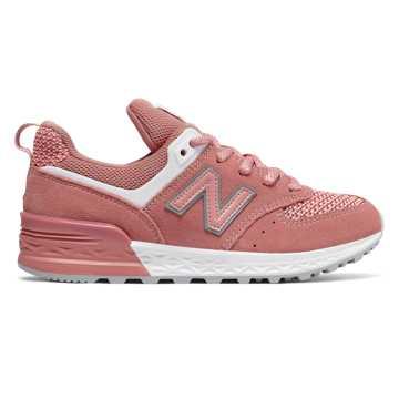 new balance 574 rosa