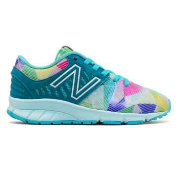 New Balance Electric Rainbow 200, Vivid Ozone Blue with Ozone Blue Glow & Multi Color