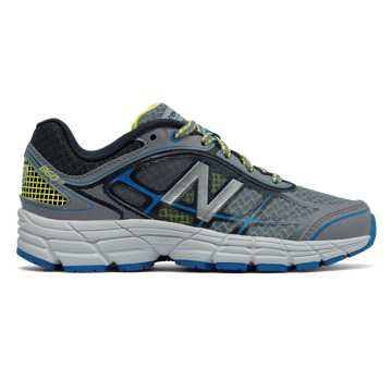 New Balance New Balance 860v5, Grey with Bolt & Yellow