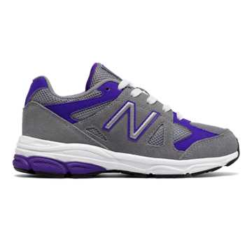 New Balance 888, Grey with Purple