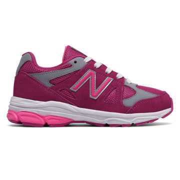 New Balance 888, Pink Zing with Grey