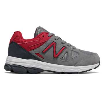 New Balance 888, Grey with Red