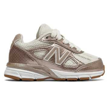 New Balance New Balance 990v4, Gold with Off White