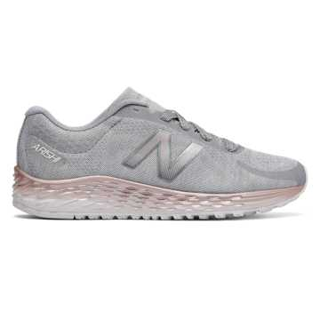 New Balance Fresh Foam Arishi, Light Grey with Rose Gold