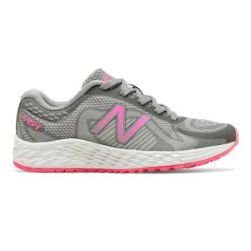 New Balance Arishi, Grey with Pink