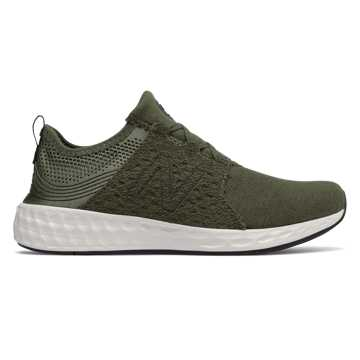 New Balance Cruz Sport Hoodie Pack, Olive with Phantom