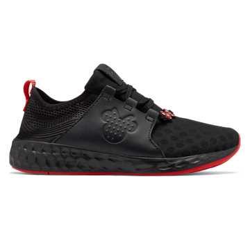 New Balance Cruz Sport Disney, Black with Red