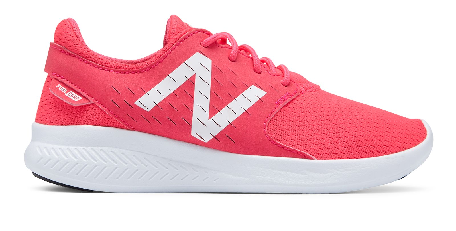 NB FuelCore Coast v3, Pink with White