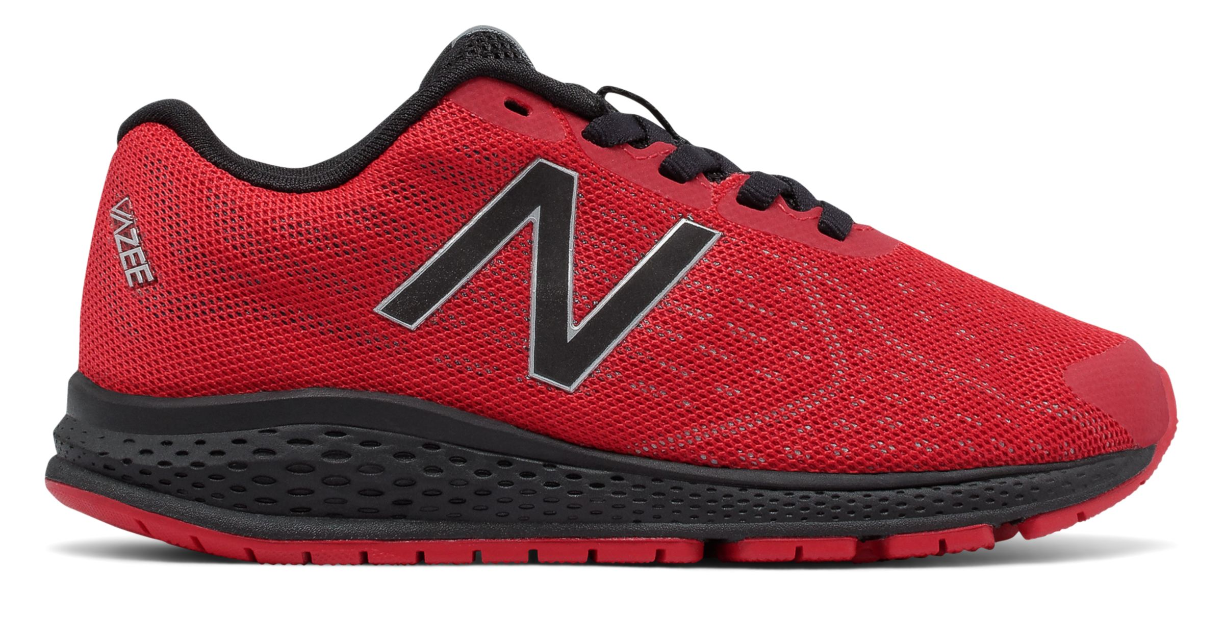 NB Vazee Rush v2, Red with Black