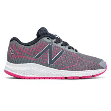 New Balance Vazee Rush v2, Grey with Pink Zing