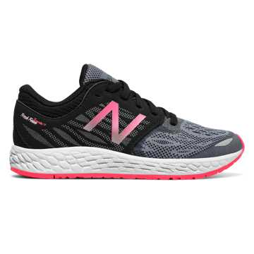 New Balance Fresh Foam Zante v3, Black with Alpha Pink & Grey