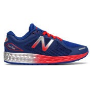 NB Fresh Foam Zante v2, Blue with Orange