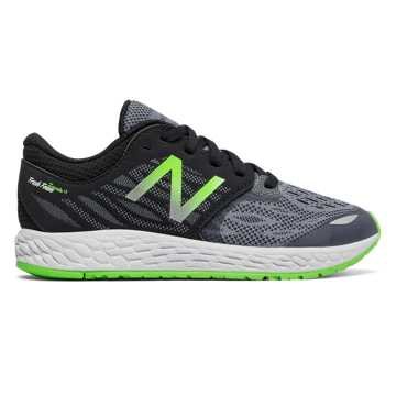 New Balance Fresh Foam Zante v3, Black with Energy Lime & Grey
