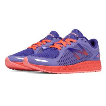 New Balance Fresh Foam Zante v2, Purple with Orange
