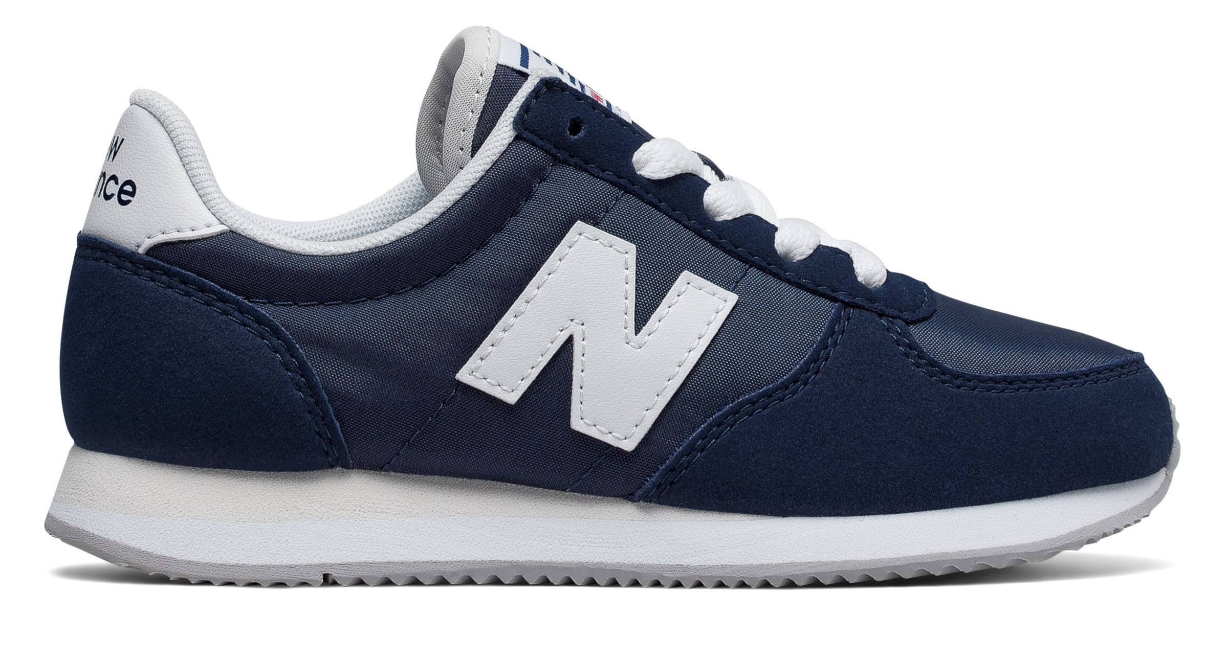 NB 220 New Balance, Navy with White