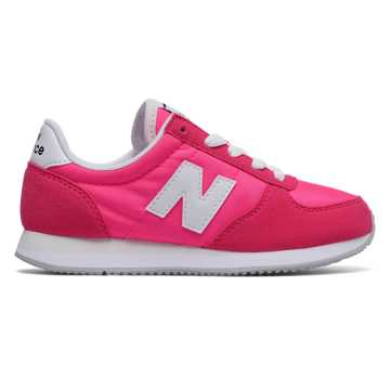 New Balance 220 New Balance, Pink with White