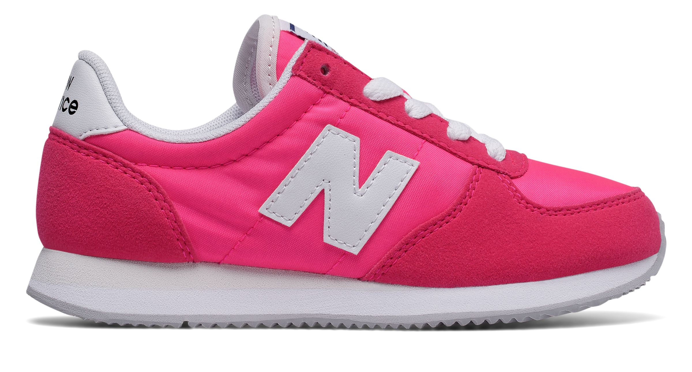 NB 220 New Balance, Pink with White