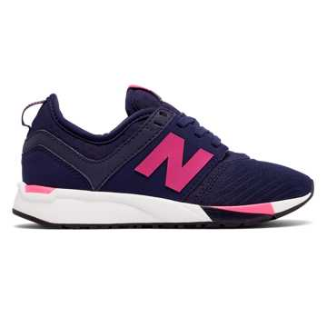 New Balance 247 Sport, Navy with Pink Flamingo