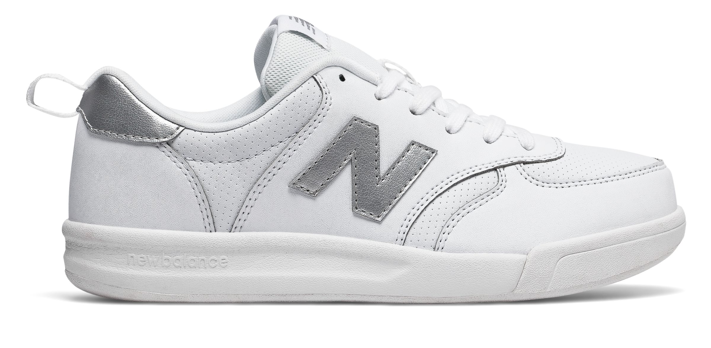 NB 300 New Balance, White with Silver