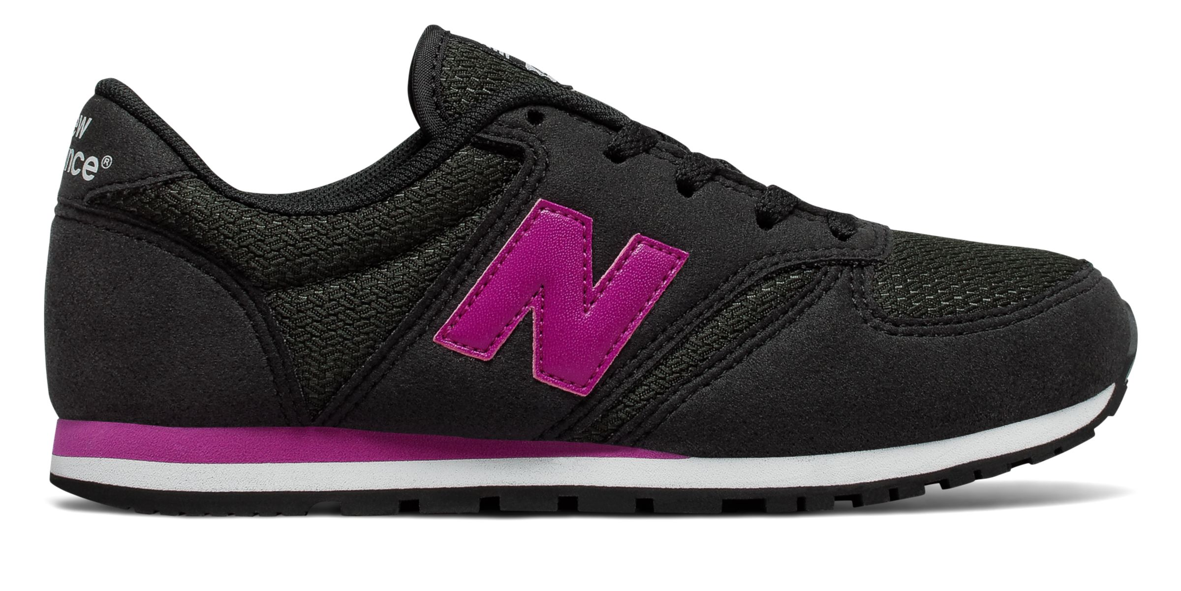 NB 420 New Balance, Black with Pink