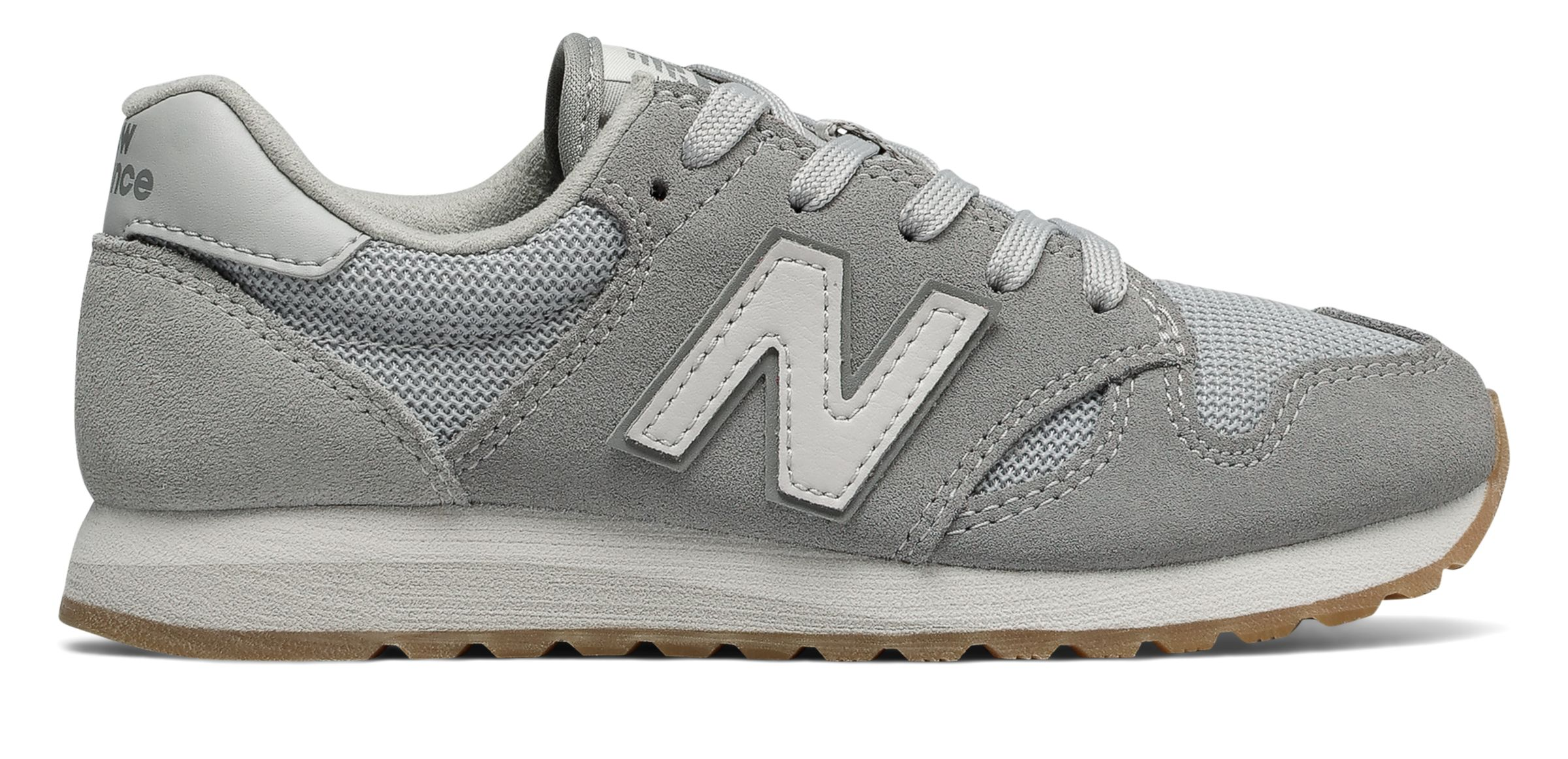 NB 520 New Balance, Grey with White