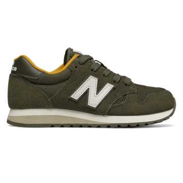 New Balance 520, Military Green with Yellow