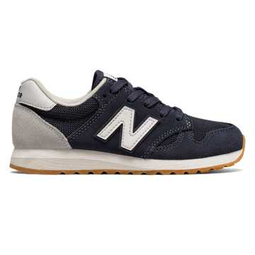 New Balance 520 New Balance, Navy with White