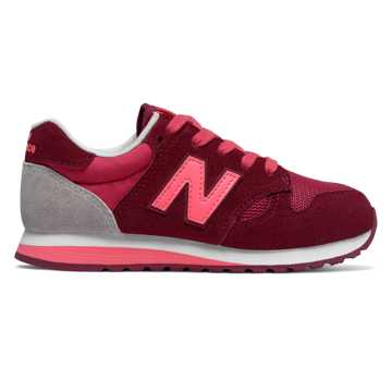 New Balance 520, Pink with Purple